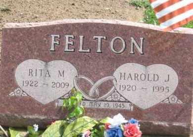 FELTON, HAROLD J. - Holmes County, Ohio | HAROLD J. FELTON - Ohio Gravestone Photos