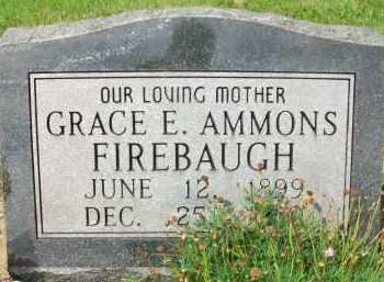 FIREBAUGH, GRACE E. - Holmes County, Ohio | GRACE E. FIREBAUGH - Ohio Gravestone Photos