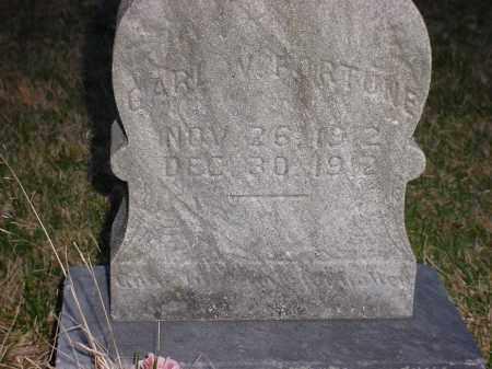 FORTUNE, CARL W - Holmes County, Ohio   CARL W FORTUNE - Ohio Gravestone Photos