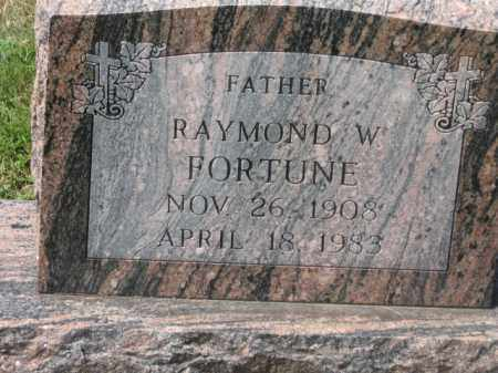 FORTUNE, RAYMOND W. - Holmes County, Ohio | RAYMOND W. FORTUNE - Ohio Gravestone Photos