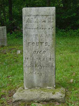 FOUTS, KEZIAH - Holmes County, Ohio | KEZIAH FOUTS - Ohio Gravestone Photos