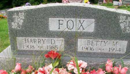 FOX, HARRY D. - Holmes County, Ohio | HARRY D. FOX - Ohio Gravestone Photos