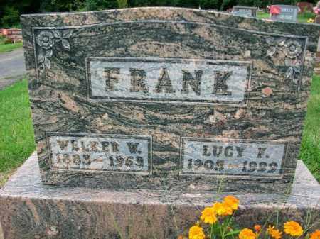 FRANK, WELKER W. - Holmes County, Ohio | WELKER W. FRANK - Ohio Gravestone Photos