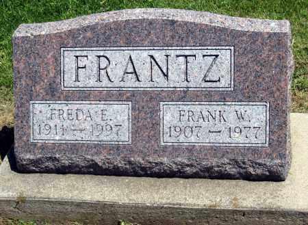 E FRANTZ, FREDA - Holmes County, Ohio | FREDA E FRANTZ - Ohio Gravestone Photos