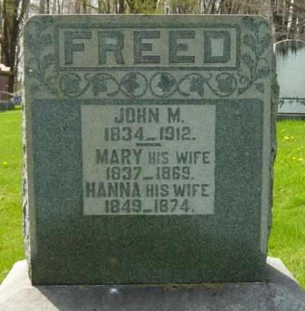 FREED, HANNA - Holmes County, Ohio   HANNA FREED - Ohio Gravestone Photos