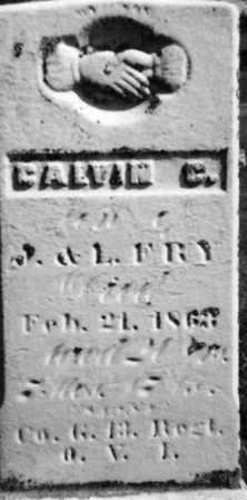 FRY, CALVIN C - Holmes County, Ohio   CALVIN C FRY - Ohio Gravestone Photos