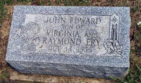 FRY, JOHN EDWARD - Holmes County, Ohio | JOHN EDWARD FRY - Ohio Gravestone Photos