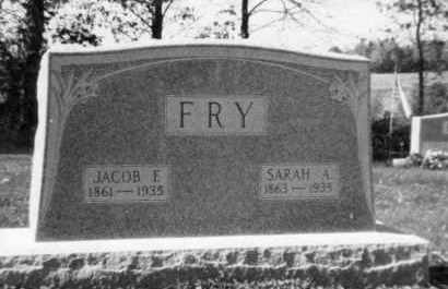 FRY, SARAH AMY - Holmes County, Ohio | SARAH AMY FRY - Ohio Gravestone Photos