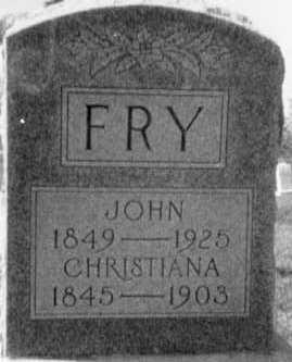 FRY, JOHN - Holmes County, Ohio | JOHN FRY - Ohio Gravestone Photos