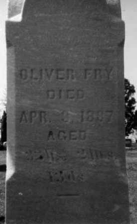 FRY, OLIVER - Holmes County, Ohio | OLIVER FRY - Ohio Gravestone Photos