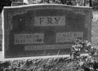 FRY, EFFIE LAURA - Holmes County, Ohio | EFFIE LAURA FRY - Ohio Gravestone Photos