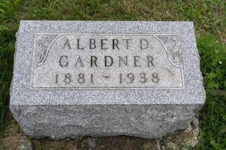 GARDNER, ALBERT D. - Holmes County, Ohio | ALBERT D. GARDNER - Ohio Gravestone Photos