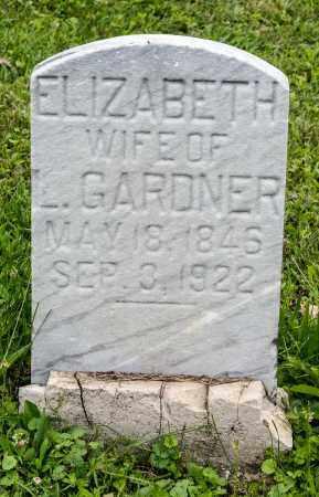 BUSHONG GARDNER, ELIZABETH - Holmes County, Ohio   ELIZABETH BUSHONG GARDNER - Ohio Gravestone Photos
