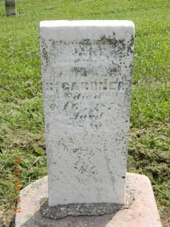 GARDNER, JANE - Holmes County, Ohio | JANE GARDNER - Ohio Gravestone Photos