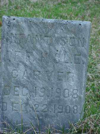 GARVER, INFANT SON - Holmes County, Ohio | INFANT SON GARVER - Ohio Gravestone Photos