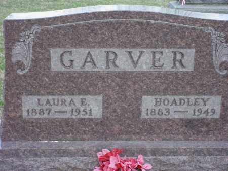 GARVER, LAURA ELBERTHA - Holmes County, Ohio | LAURA ELBERTHA GARVER - Ohio Gravestone Photos