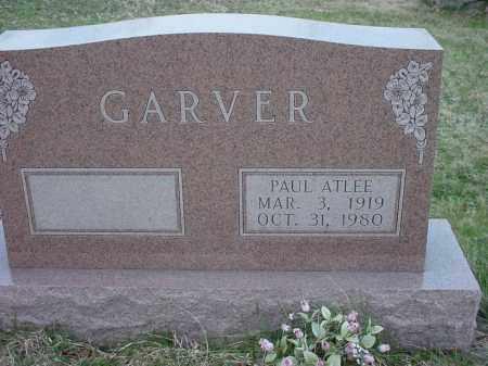 GARVER, PAUL ATLEE - Holmes County, Ohio | PAUL ATLEE GARVER - Ohio Gravestone Photos