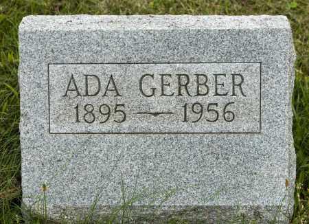 GERBER, ADA - Holmes County, Ohio | ADA GERBER - Ohio Gravestone Photos