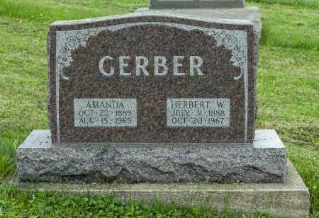 MILLER GERBER, AMANDA - Holmes County, Ohio | AMANDA MILLER GERBER - Ohio Gravestone Photos