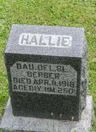 GERBER, HALLIE - Holmes County, Ohio | HALLIE GERBER - Ohio Gravestone Photos