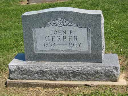 F GERBER, JOHN - Holmes County, Ohio | JOHN F GERBER - Ohio Gravestone Photos