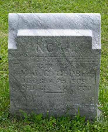 GERBER, NOAH - Holmes County, Ohio | NOAH GERBER - Ohio Gravestone Photos