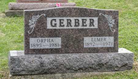 GERBER, ELMER - Holmes County, Ohio | ELMER GERBER - Ohio Gravestone Photos