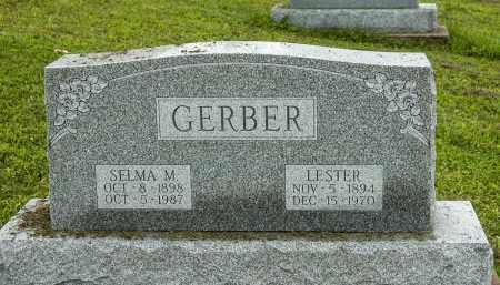 HERSHBERGER GERBER, SELMA M. - Holmes County, Ohio | SELMA M. HERSHBERGER GERBER - Ohio Gravestone Photos