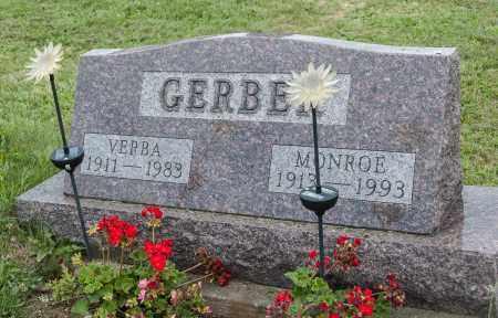 GERBER, VERBA - Holmes County, Ohio | VERBA GERBER - Ohio Gravestone Photos