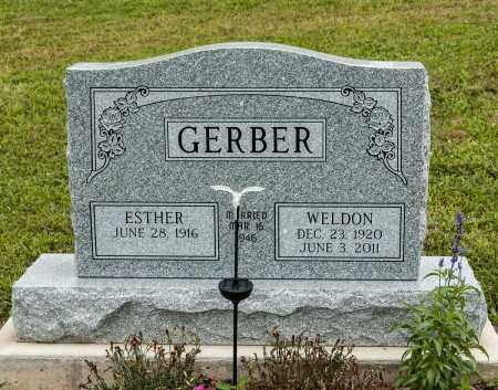 GERBER, WELDON - Holmes County, Ohio | WELDON GERBER - Ohio Gravestone Photos