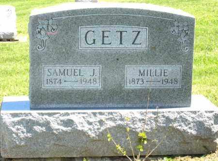 GETZ, MILLIE - Holmes County, Ohio | MILLIE GETZ - Ohio Gravestone Photos