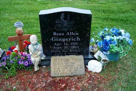 GINGERICH, RYAN ALLEN - Holmes County, Ohio | RYAN ALLEN GINGERICH - Ohio Gravestone Photos
