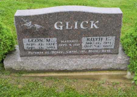 GLICK, LEON M. - Holmes County, Ohio | LEON M. GLICK - Ohio Gravestone Photos