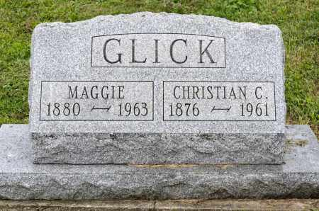 GLICK, CHRISTIAN C. - Holmes County, Ohio | CHRISTIAN C. GLICK - Ohio Gravestone Photos