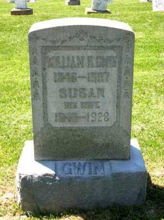 GWIN, SUSAN - Holmes County, Ohio   SUSAN GWIN - Ohio Gravestone Photos