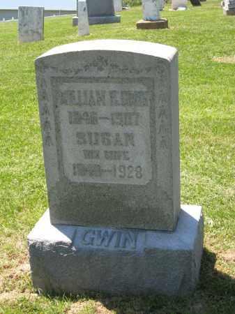 GWIN, WILLIAM H. - Holmes County, Ohio | WILLIAM H. GWIN - Ohio Gravestone Photos