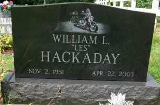 "HACKADAY, WILLIAM L. ""LES"" - Holmes County, Ohio | WILLIAM L. ""LES"" HACKADAY - Ohio Gravestone Photos"