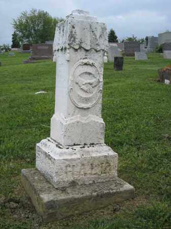 HALL MONUMENT, EMILY - Holmes County, Ohio | EMILY HALL MONUMENT - Ohio Gravestone Photos