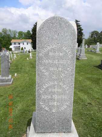 HALL, THOMAS - Holmes County, Ohio | THOMAS HALL - Ohio Gravestone Photos
