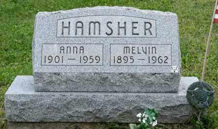 WEAVER HAMSHER, ANNA - Holmes County, Ohio   ANNA WEAVER HAMSHER - Ohio Gravestone Photos