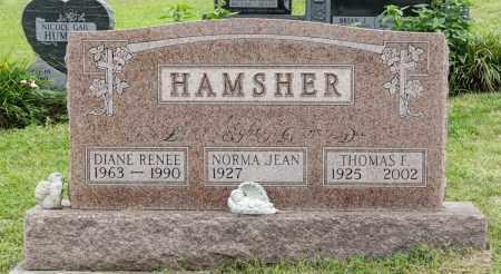 HAMSHER, THOMAS FRANKLIN - Holmes County, Ohio | THOMAS FRANKLIN HAMSHER - Ohio Gravestone Photos