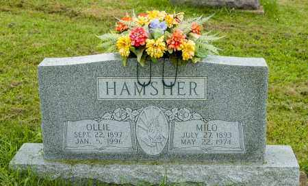 HAMSHER, OLLIE - Holmes County, Ohio | OLLIE HAMSHER - Ohio Gravestone Photos