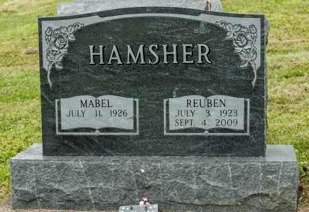 HAMSHER, REUBEN - Holmes County, Ohio | REUBEN HAMSHER - Ohio Gravestone Photos