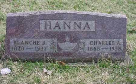 SMITH HANNA, BLANCHE B - Holmes County, Ohio | BLANCHE B SMITH HANNA - Ohio Gravestone Photos