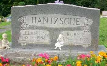 HANTZSCHE, LELAND G. - Holmes County, Ohio   LELAND G. HANTZSCHE - Ohio Gravestone Photos