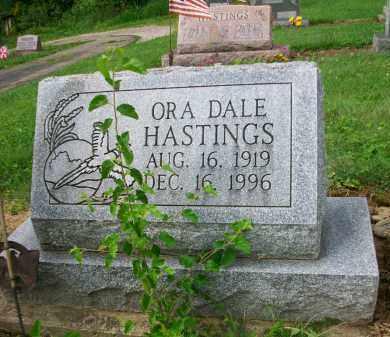 HASTINGS, ORA DALE - Holmes County, Ohio   ORA DALE HASTINGS - Ohio Gravestone Photos