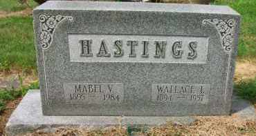 HASTINGS, WALLACE L. - Holmes County, Ohio | WALLACE L. HASTINGS - Ohio Gravestone Photos