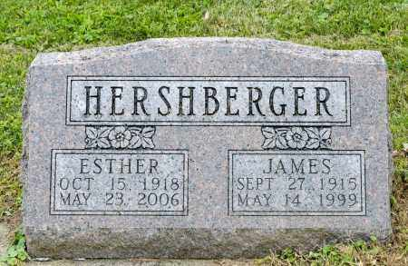 HERSHBERGER, ESTHER - Holmes County, Ohio | ESTHER HERSHBERGER - Ohio Gravestone Photos
