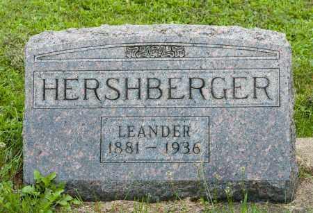 HERSHBERGER, LEANDER - Holmes County, Ohio | LEANDER HERSHBERGER - Ohio Gravestone Photos