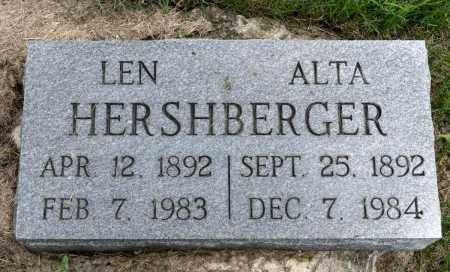 HERSHBERGER, ALTA - Holmes County, Ohio | ALTA HERSHBERGER - Ohio Gravestone Photos